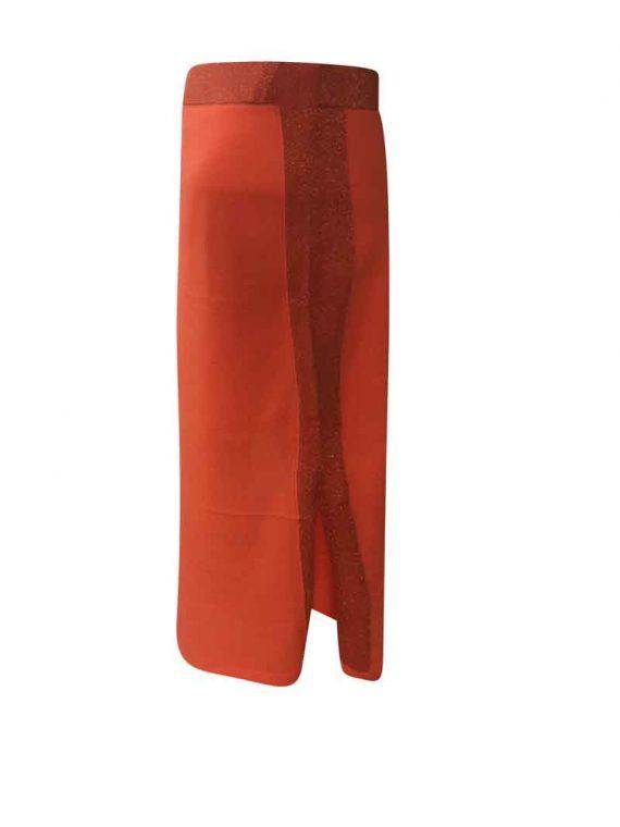 Amuse Skirt Orange 4507 2