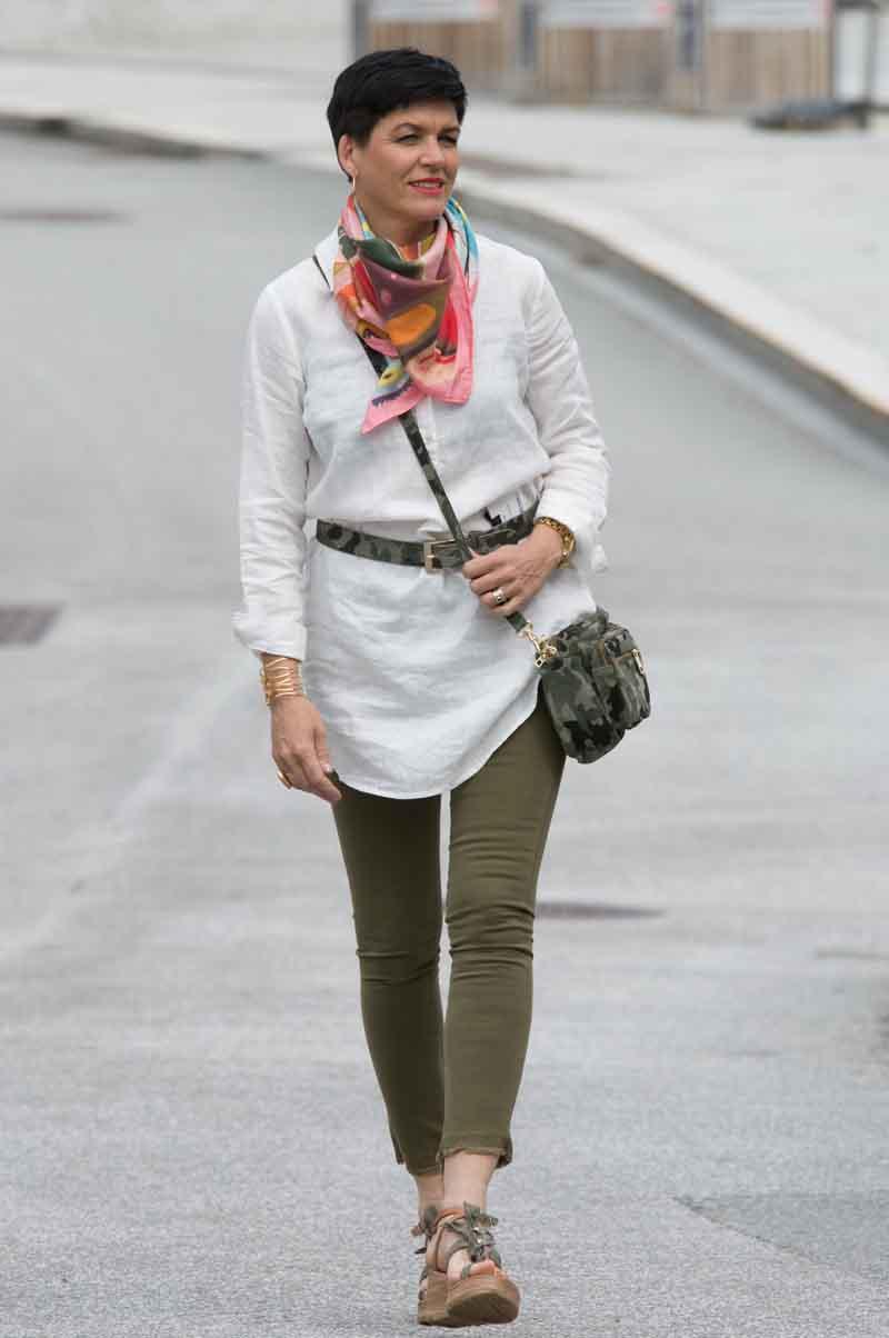 860a591e Katrin Uri Ultimate Linen Dress White - Amok Geilo