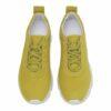 Shoe BIZ Space Ribbon Goat Suede Yellow B7928GS