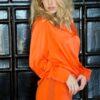 Amuse Silke Bluse Orange 4114