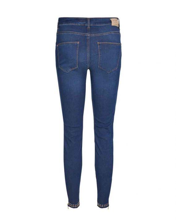 Mos Mosh Victoria Trok Jeans Blue Denim 2
