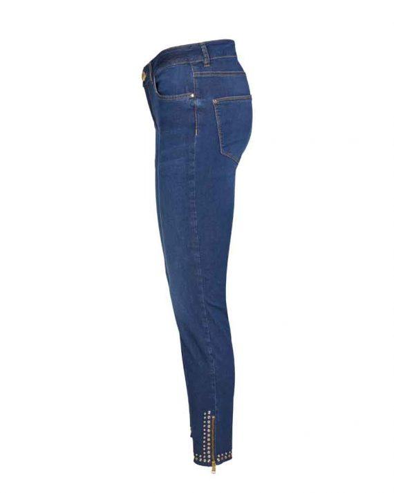 Mos Mosh Victoria Trok Jeans Blue Denim 3