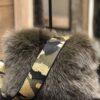 Cosy Concept Fur Vilma Bag Army
