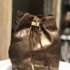 Campomaggi Secchiello Laminato T/C Bronze+Cognac Stair