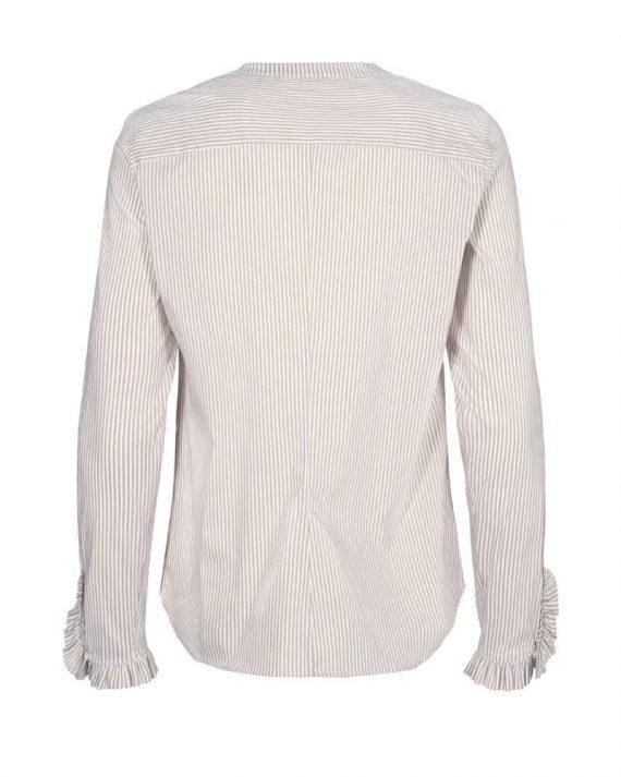 Mos Mosh Mattie Stripe Shirt Safari Stripe 2