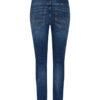 Mos Mosh Etta Leather Jeans Blue