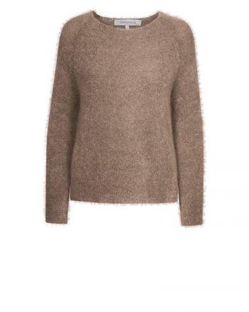 Johnny Love Alicia Light Mohair Sweater Sand