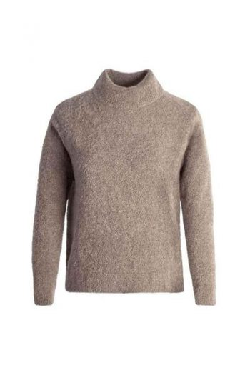 Johnny Love Reba Light Mohair Turtle Sweater Sand