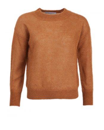 Johnny Love Roxy Glimmer Sweater Caramel