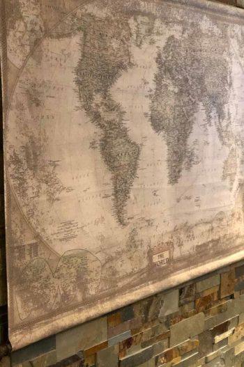 AF GLOBETROTTER World map 797-564-03