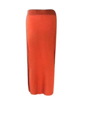 Amuse Skirt Orange 4507