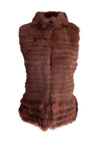 Amuse Vest Rabitt Terracotta 5127