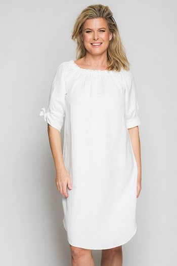 Ane Mone Dress White 815048