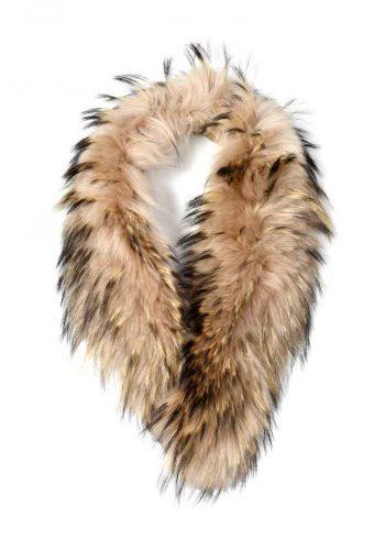 Ane Mone Fur Collar Sand 999021