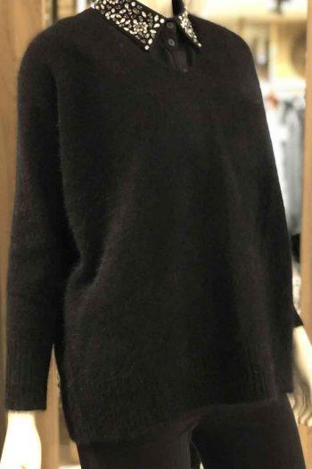 Ane Mone Pullover Black 916034