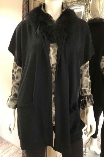 Ane Mone Waistcoat Black 999018