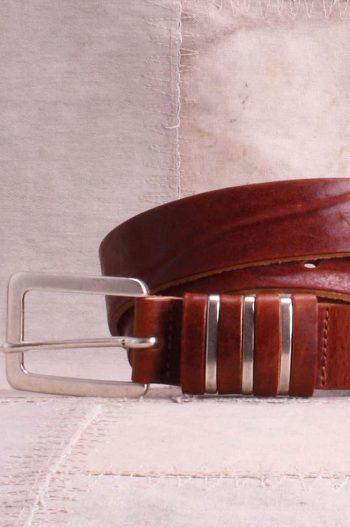 Bæltekompagniet belte cognacfarget 38850-53