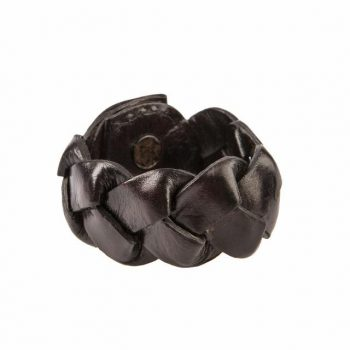Balmuir Hamilton Napkin Ring Dark Brown