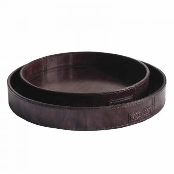 Balmuir Hamilton tray, M, dark brown