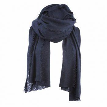 Balmuir Helsinki scarf Cashmere Midnight