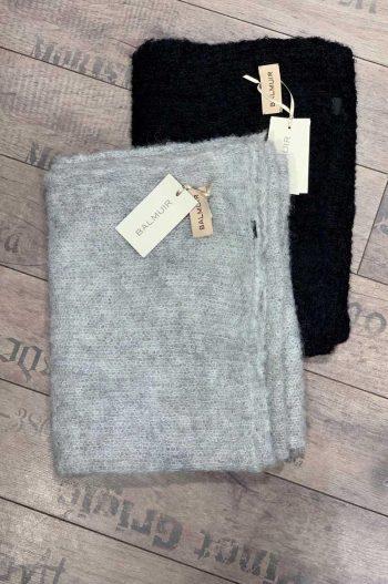 Balmuir Luzern Scarf Dark Grey