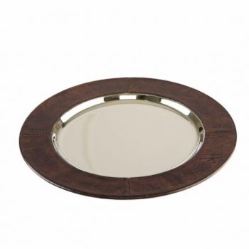Balmuir Winston Serving Tray Dark Brown