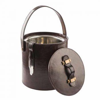 Balmuir Winston ice bucket Dark Brown
