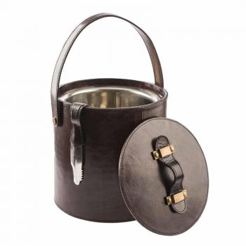Balmuir Winston ice bucket Dark Brown
