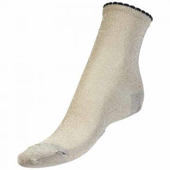 Bella Ballou Lurex Socks Silver AW18-6763