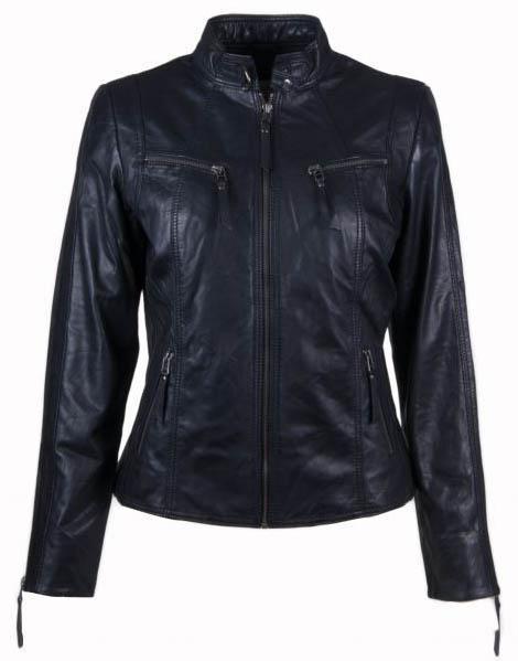 Butterfly Biker Jacket 10245 Black