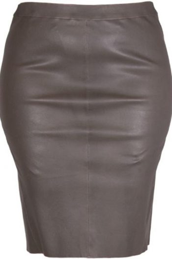 Butterfly Stretch Skirt Dark Coffee Brown 10660