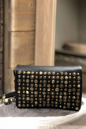 Campomaggi Crossbody Medium Cow Colored Studs Celestina
