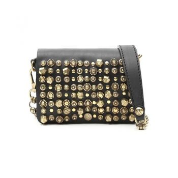Campomaggi Crossbody Small Cow. Colored Studs Celestina