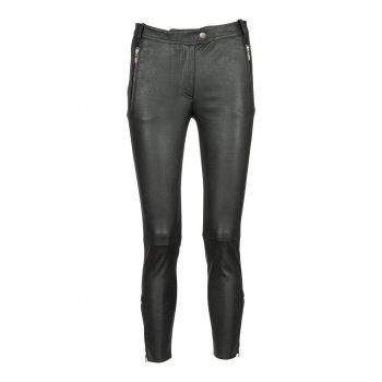Depeche 7/8 Pants w/zipper pocket and zipper bottom Gold 12552