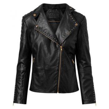 Depeche Jacket w/Studs Gold 50122