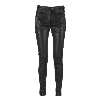 Depeche Pant black w/zipper pockets Gold 12446