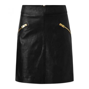 Depeche Skirt Gold 13636