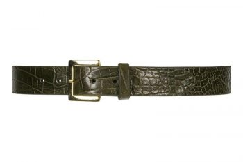 Depeche jeans belt army green 12606