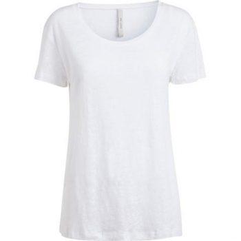 Gai+Lisva Basic O-Neck White 10227-1