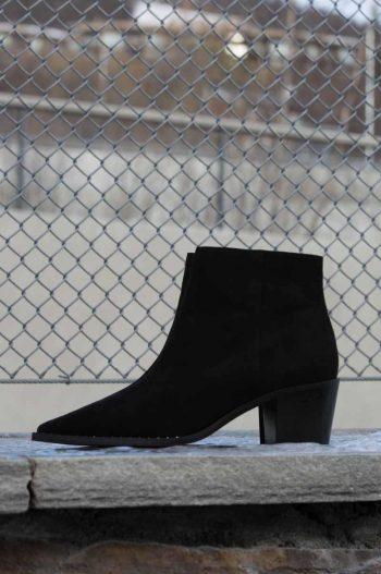 Gardenia Nairobi Short Boot Suede Black