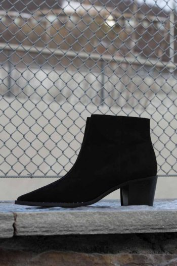 Gardenia Nairobi Short Boot Suede Black