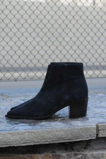 Gardenia Nairobi Short Boot Suede Navy