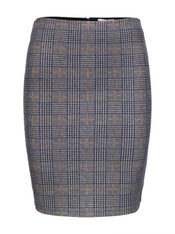 Haust Classic Skirt Light Check