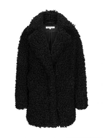 Haust Fab Coat Black
