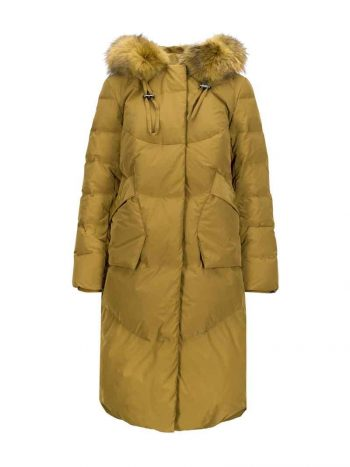 Haust Fashion Long Puffer Acid