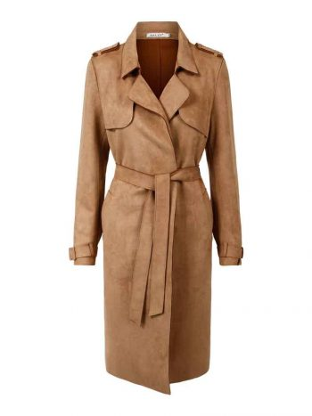 Haust Fashion Trench Coat Sand 191406