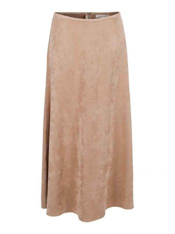 Haust Long Suede Skirt 191102