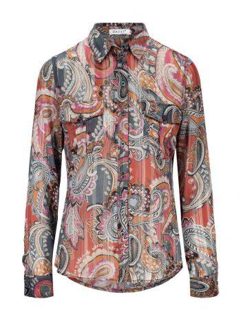 Haust Paisley Shirt Coral