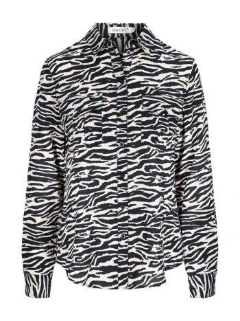 Haust Pocket Shirt Zebra