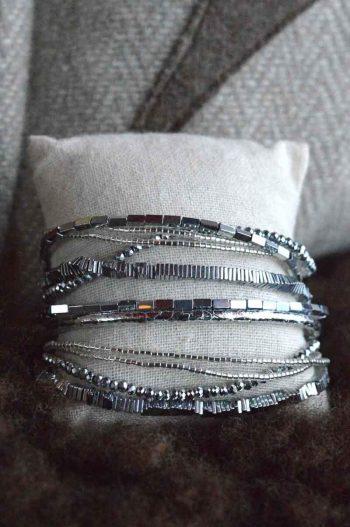 Hipanema Armbånd Santafe Silver Hipw17-030